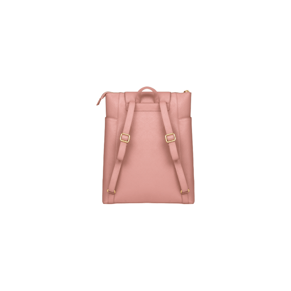 "Berlin - 14"" Womens Laptop Backpack- Brushed Rose - Laptopbags.co.uk"