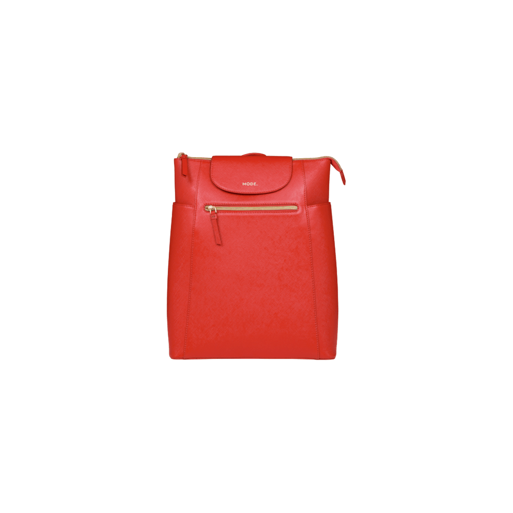 "Berlin - 14"" Womens Laptop Backpack- Poppy Red - Laptopbags.co.uk"