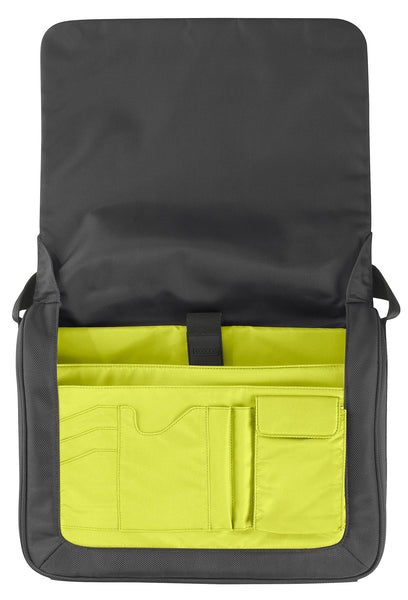 "SOHO 13"" Water Resistant Laptop Messenger Bag - Laptopbags.co.uk"