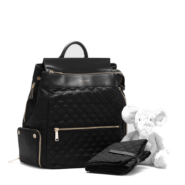 "Charli Quilted 15"" Laptop Backpack - Laptopbags.co.uk"
