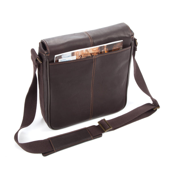 "Colombian Leather 10.5"" Tablet - iPad Bag - Brown - Laptopbags.co.uk"