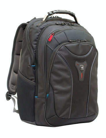 "Wenger Carbon 17"" Laptop Backpack - Laptopbags.co.uk"