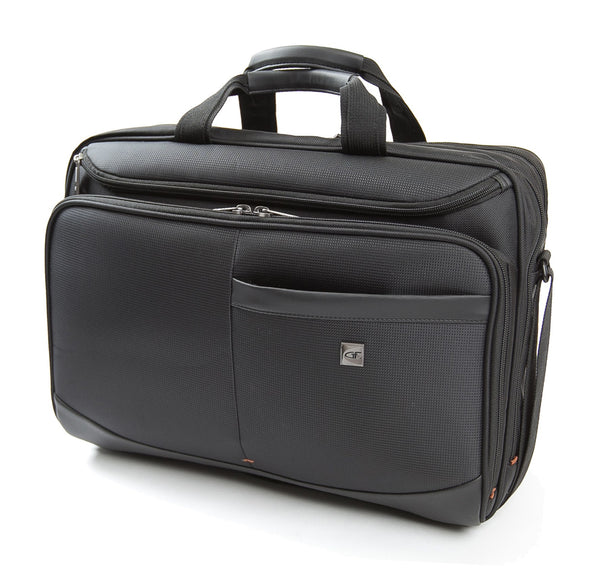 "Gino Ferrari Metis 17"" Laptop Business Briefcase - Laptopbags.co.uk"