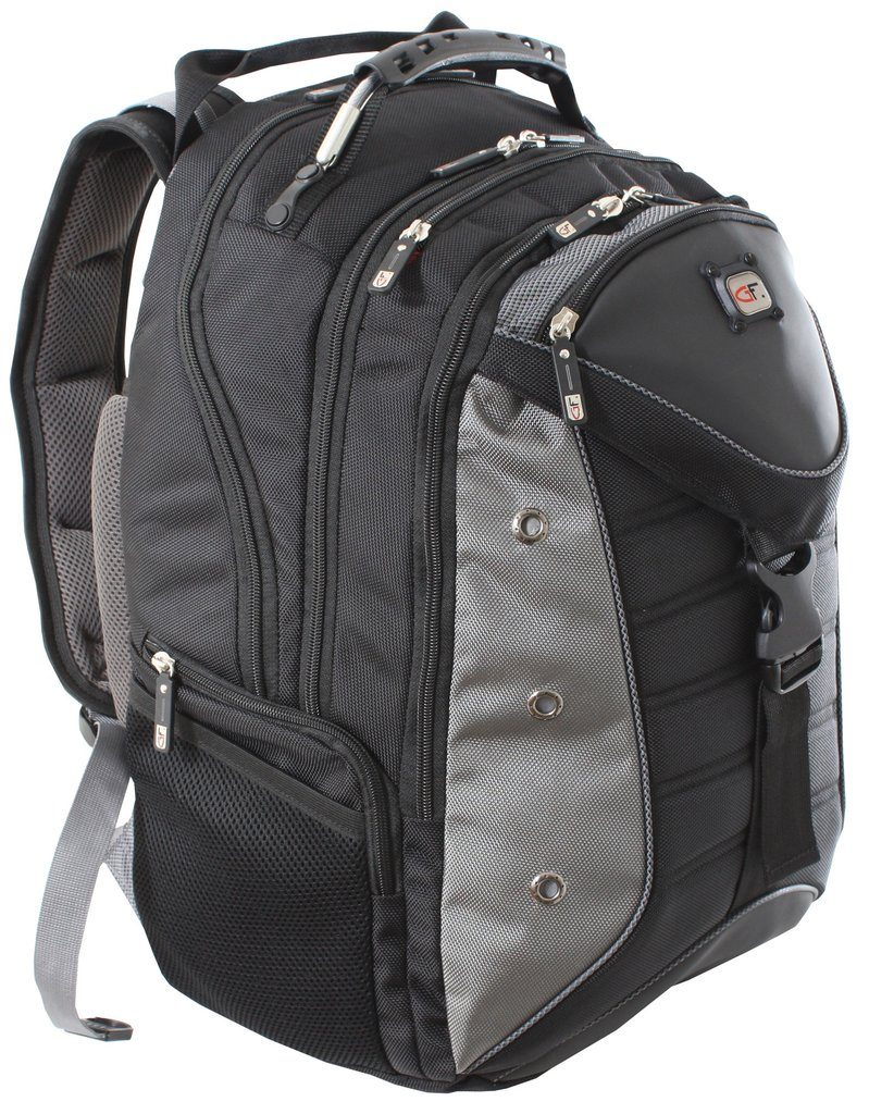 "Gino Ferrari Inca 17"" Laptop Backpack - Laptopbags.co.uk"