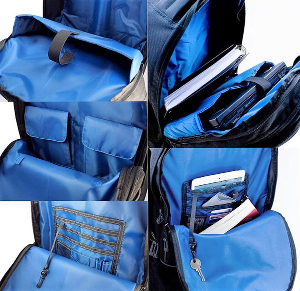 "Wheeled Carry on Cabin Approved 15.6"" Laptop Backpack - Laptopbags.co.uk"