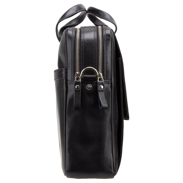 "Anderson 15"" Laptop Briefcase- Black - Laptopbags.co.uk"