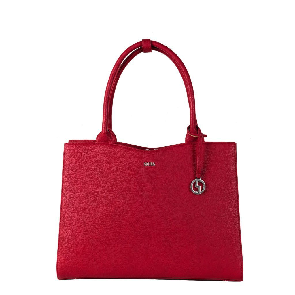 Cherry Red Midi 13.3″ Womens Laptop Tote - Laptopbags.co.uk
