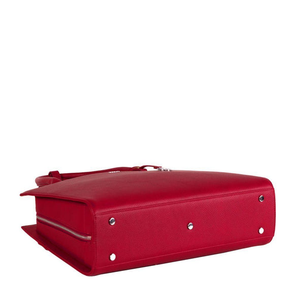Cherry Red Midi 14″ Womens Laptop Tote - Laptopbags.co.uk