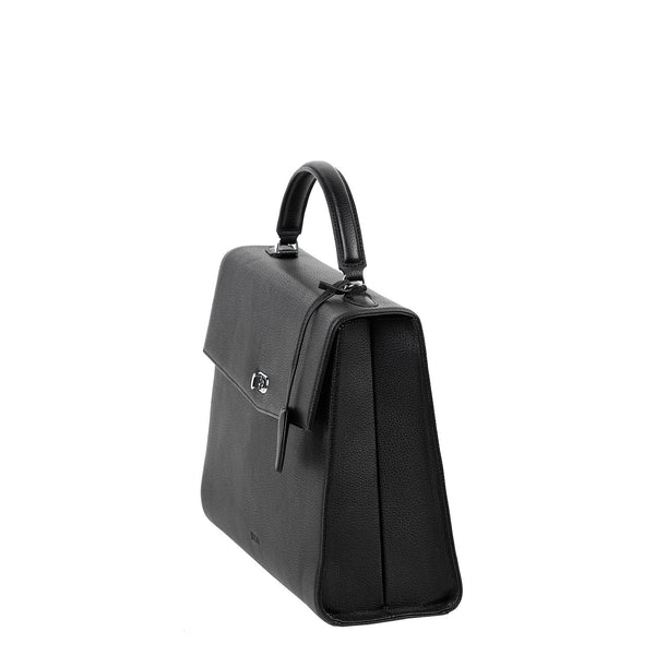 Audrey Black 13.3″ Womens Laptop Tote - Laptopbags.co.uk