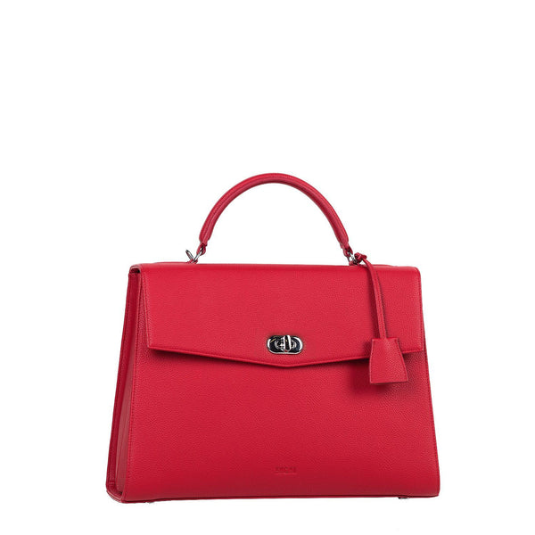 Audrey Cherry Red 13.3″ Womens Laptop Tote - Laptopbags.co.uk