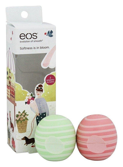 EOS Limited Edition Lip Balm, Visibly Soft Cucumber Melon and Coconut Milk - Glumech
