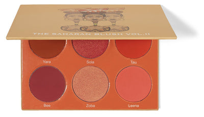 The Saharan Blush Palette Vol II By Juvia's - Glumech