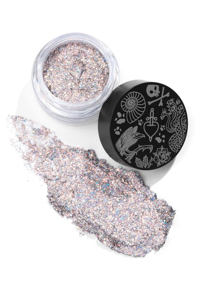 Colourpop Villains Collection - Glitterally Obsessed - Do I  Look Like I Care - Face and Body Glitter - Glumech