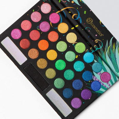 BH Cosmetics Eyeshadow Palette, Take Me Back To Brazil, Rio Edition - Glumech