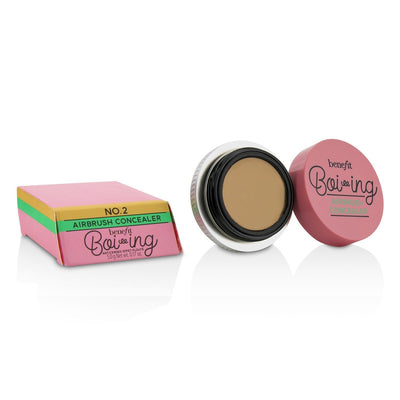Benefit Boi ing Airbrush Concealer - # 02 (Light/Medium) 5g/0.17oz - Glumech