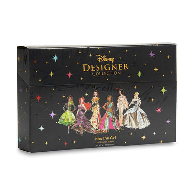 Colourpop Disney Designer Collection Creme Lux Lipstick Bundle - Kiss the Girl - Tiana, Ariel, Belle, Jasmine, Snow White, and Cinderella - Glumech