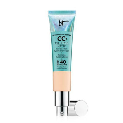 It Cosmetics Your Skin But Better CC Cream Oil-Free Matte with SPF 40 - Light Medium - Glumech