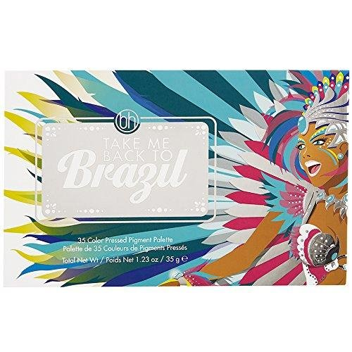 Take Me Back to Brazil 35-Color Pressed Pigment Palette by BH Cosmetics