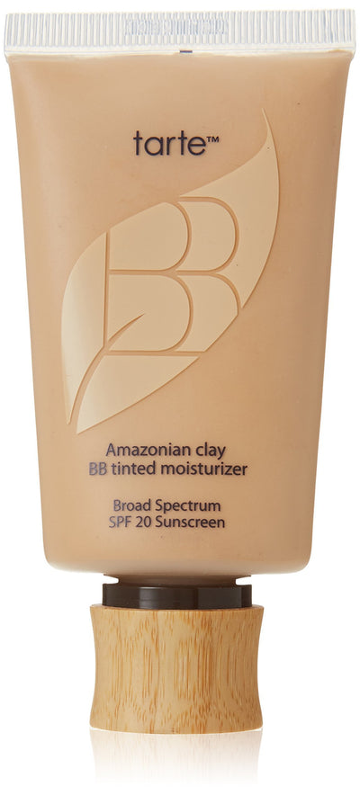 Tarte Cosmetics Amazonian Clay BB Tinted Moisturizer Broad Spectrum SPF 20, Light-Medium - Glumech