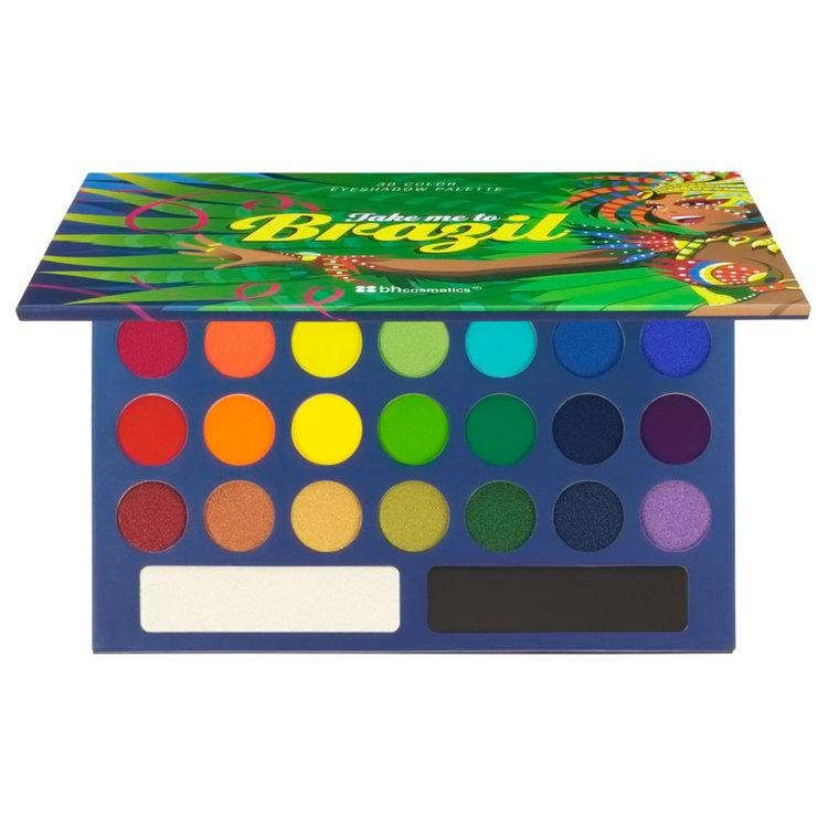 Take Me To Brazil - 30 Color Eyeshadow Palette - BH Cosmetics