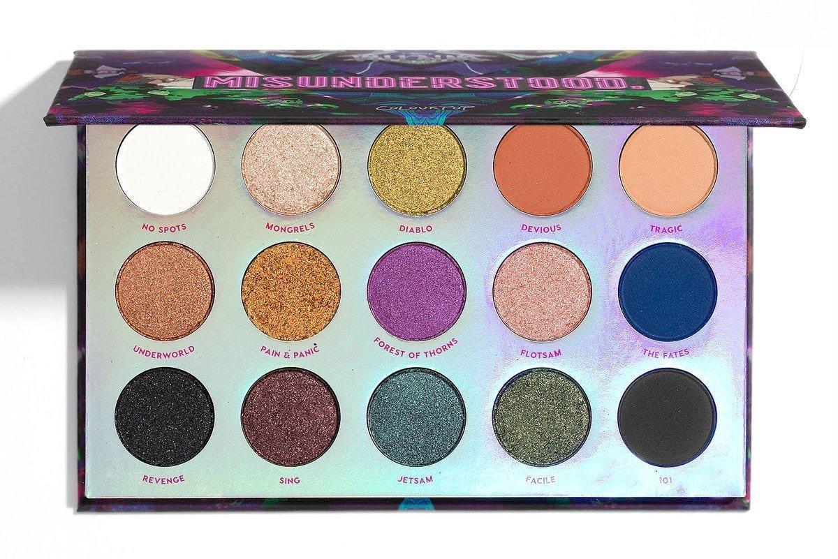 Colourpop Villains Collection - Misunderstood - Pressed Powder Eye Shadow Palette