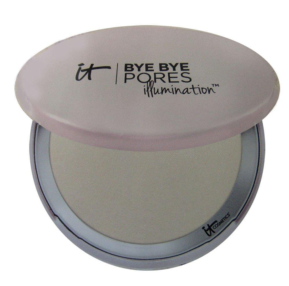 It Cosmetics Bye Bye Pores Illumination Poreless Finish Airbrush Pressed Powder in Radiant Transulcent 0.31 oz - Glumech
