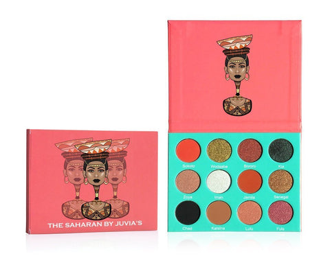 The Saharan Palette by Juvia's