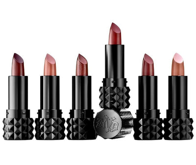 Kat Von D Best of Nudes Mini Studded Kiss Creme Lipstick Set - Glumech