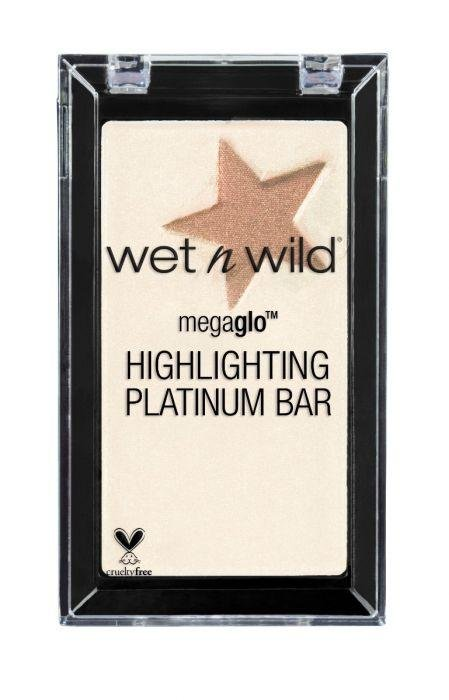 Wet N Wild Megaglo Highlighting Platinum Bar - Winter Bloom - Glumech