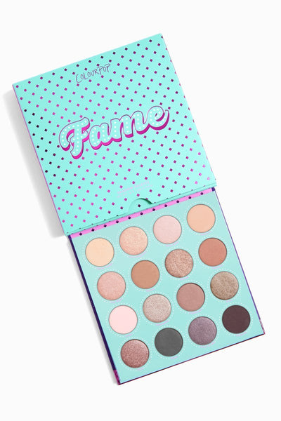Colourpop Fame Eyeshadow Palette - Glumech