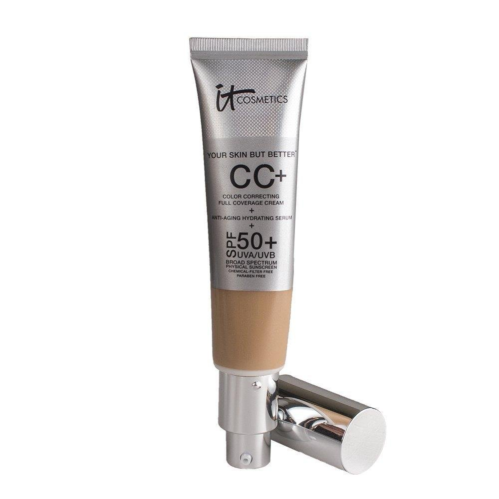 Your Skin but Better CC Cream with SPF 50 Plus (Medium) - 1.08 Ounces - Glumech