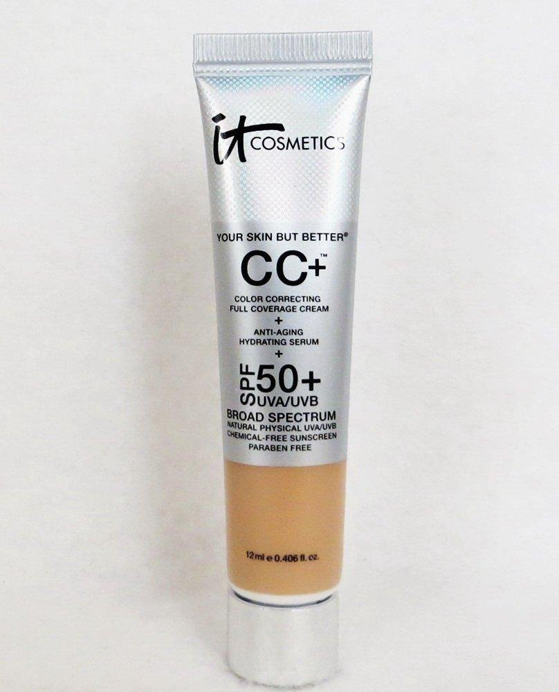 It Cosmetics Your Skin But Better CC Cream with SPF 50+ Travel Size Light 0.406oz - Glumech