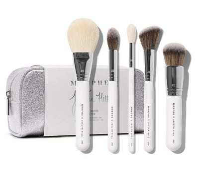Morphe JACLYN HILL The Complexion Master Collection Brush Set With Bag