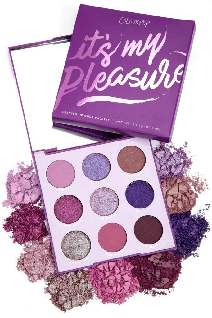 Colourpop Its My Pleasure Purple Eyeshadow Palette