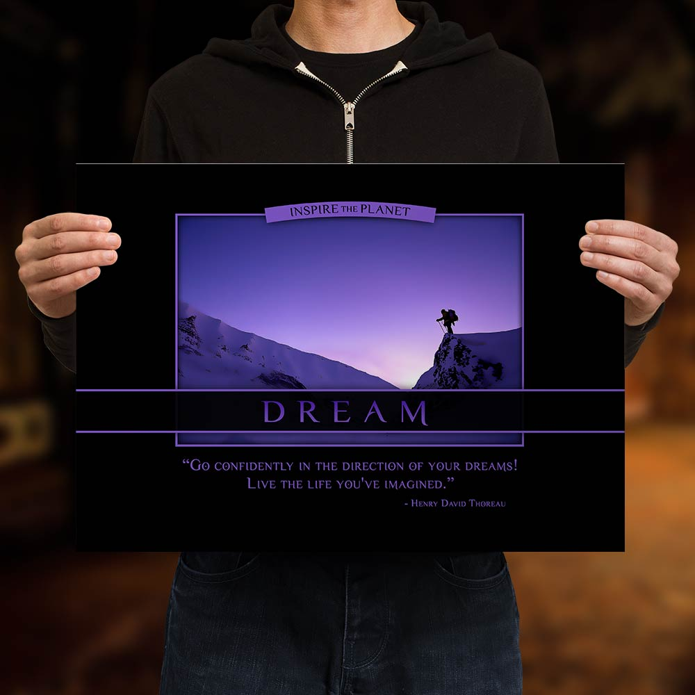 Classic Dream Poster - Henry David Thoreau