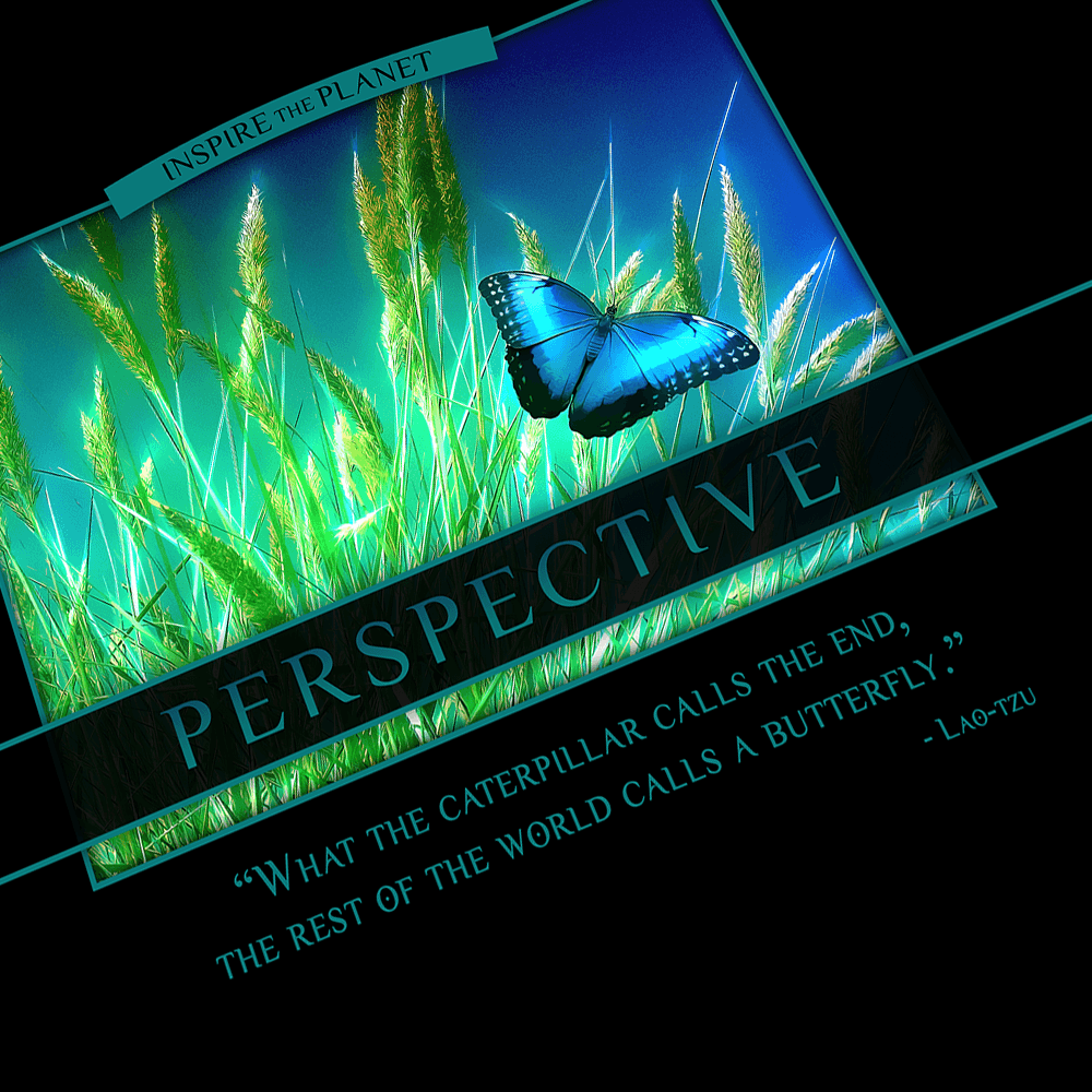 Classic Perspective Poster - Lao Tzu