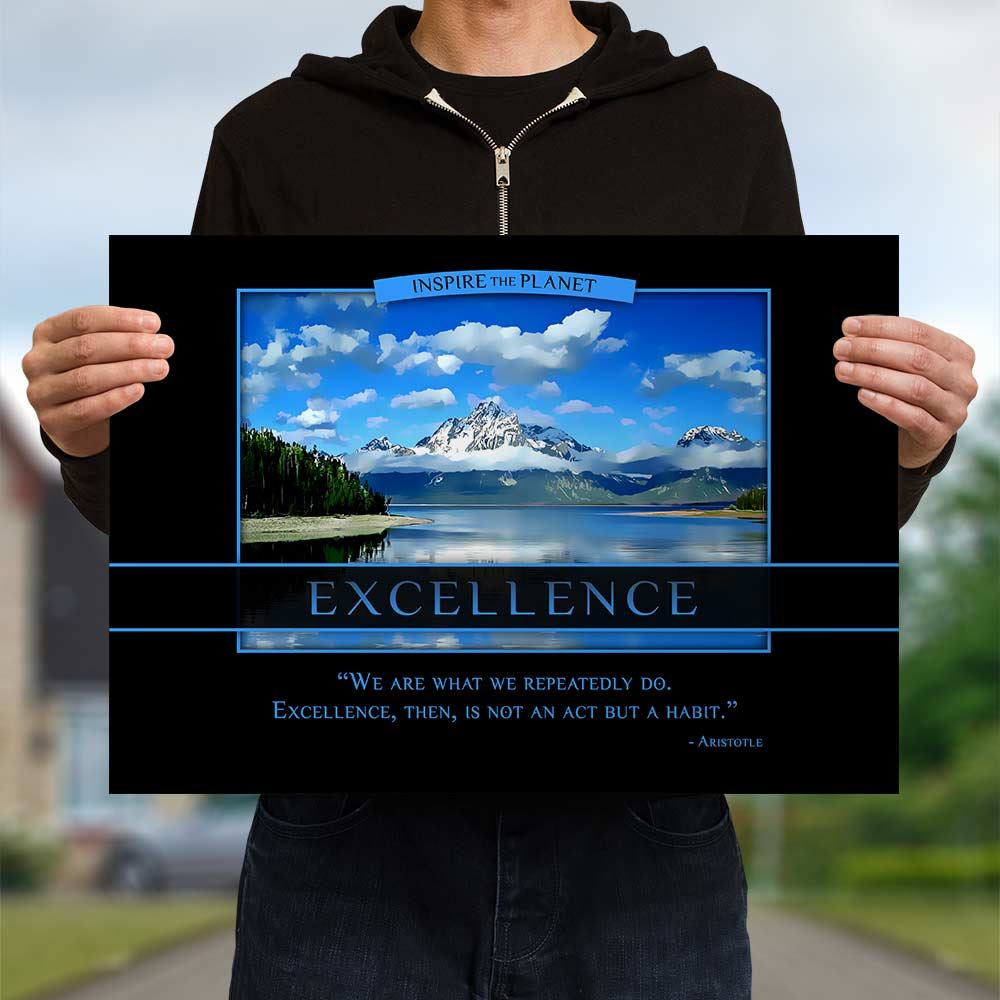 Classic Excellence Poster - Aristotle