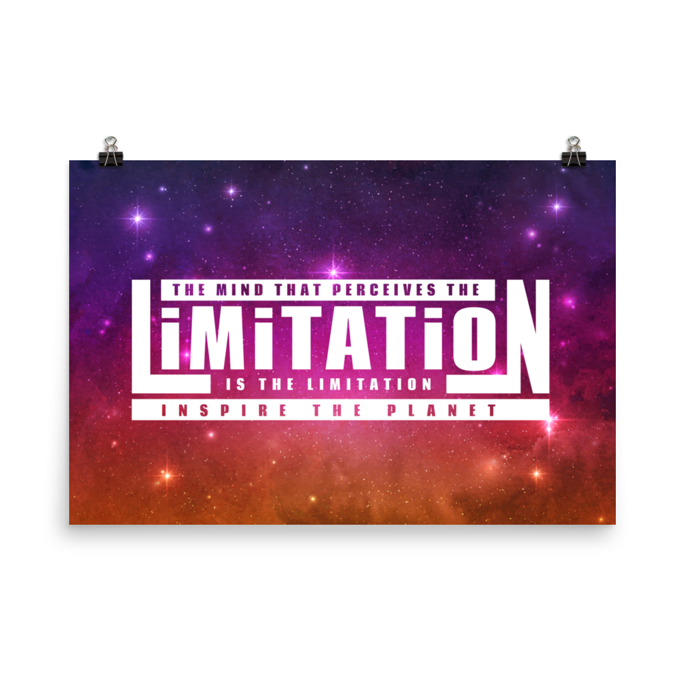 Mind Is The Limitation Poster