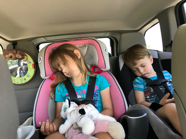 Surviving Car Trips with Toddlers