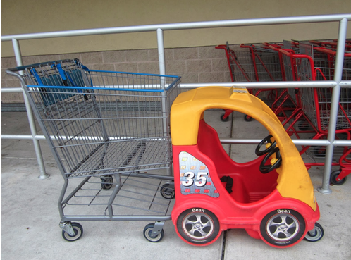 Double Cart, Single Kid?