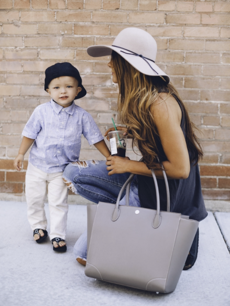 How to Ditch the Diaper Bag When You Still Have Kids in Diapers