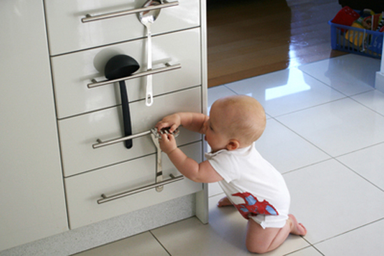 Low-Budget Baby Proofing Ideas