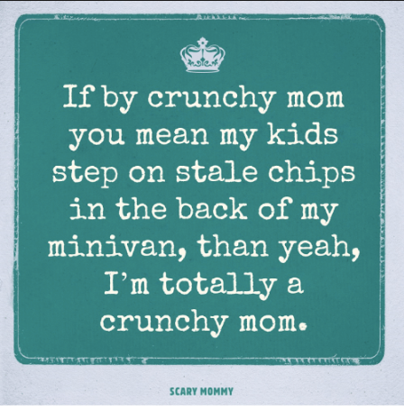 Are You a Scrunchy Mom?