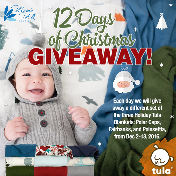 12 Days of Christmas ~ Tula Holiday Blankets Giveaway