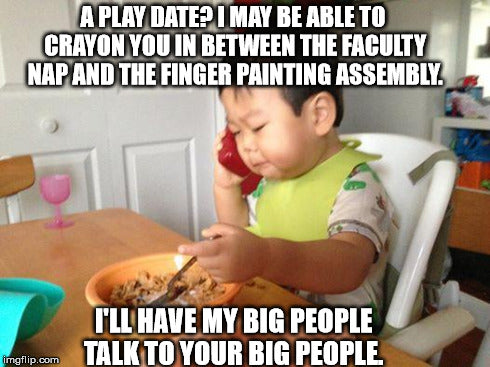 It's OK to Say No to Playdates