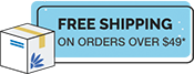 Free Ship on orders over $49*