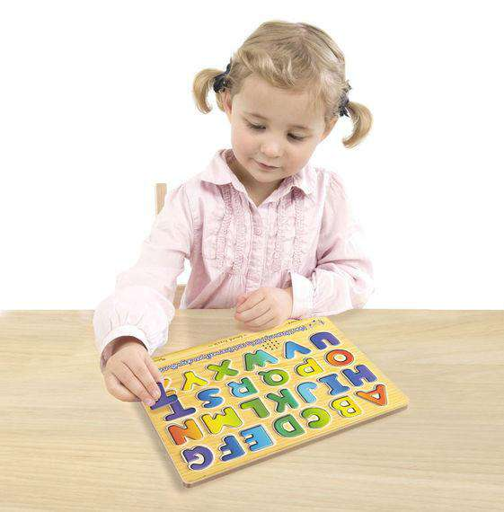 Melissa & Doug | Alphabet Sound Puzzle - 26 Pieces