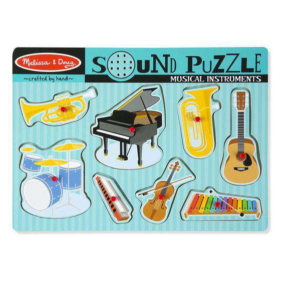 Melissa & Doug | Sound Puzzle | Musical Instruments