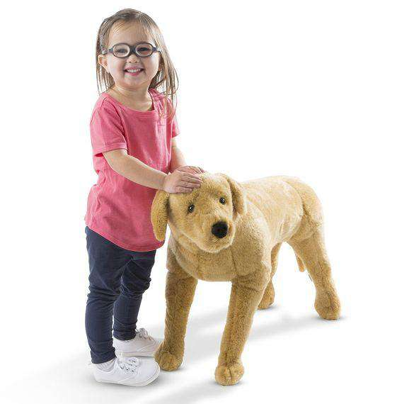 Melissa & Doug | Yellow Lab Giant Stuffed Animal