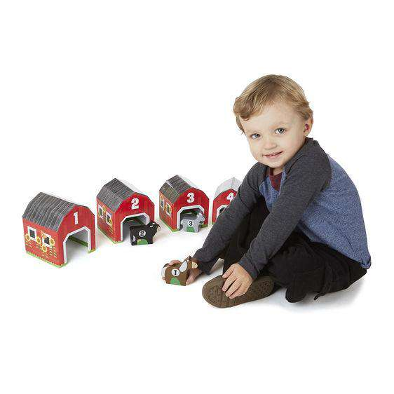 Melissa & Doug | Nesting & Sorting Barns & Animals